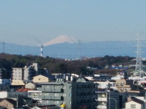 日吉本町5丁目富士山