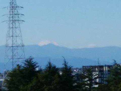 生田緑地ゴルフ場富士山