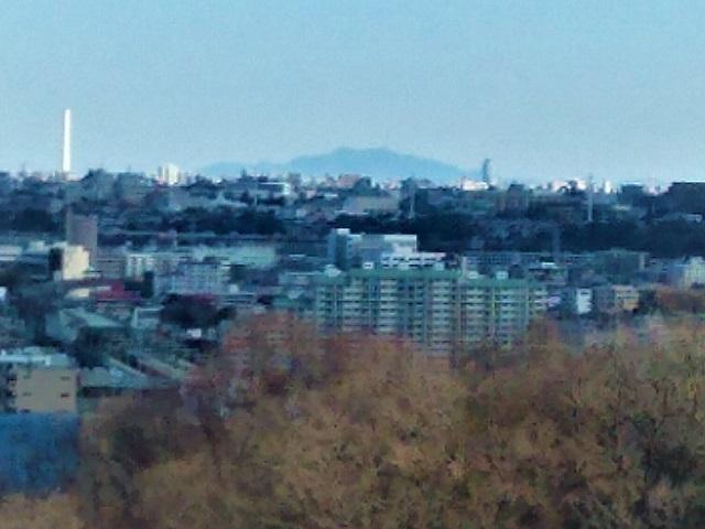 桝形山展望台筑波山