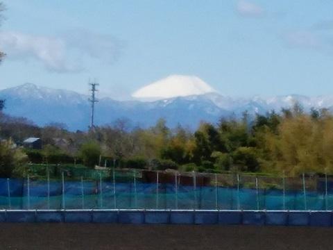 仲町台4丁目富士山