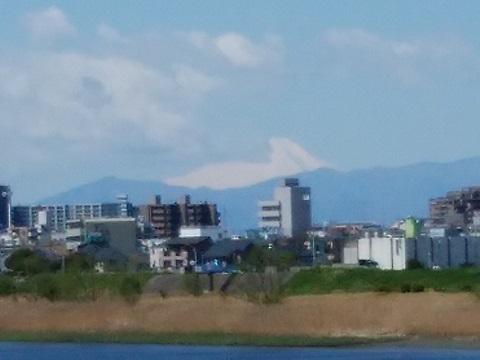 大田区西六郷2丁目富士山