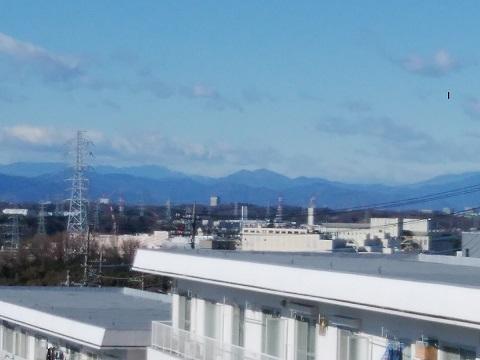 王禅寺見晴らし公園箱根の山