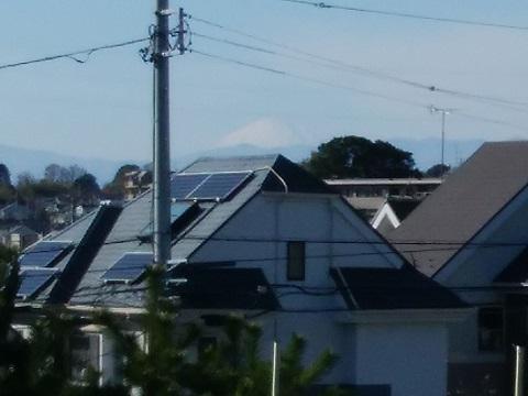 下田町3丁目富士山