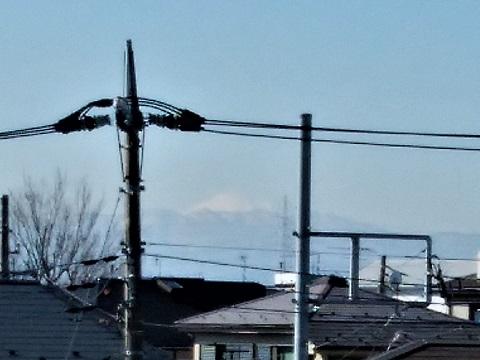 菅生6丁目富士山