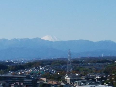 高石神社富士山