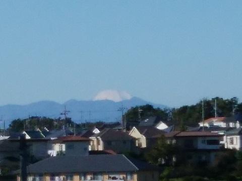 高山団地北側富士山