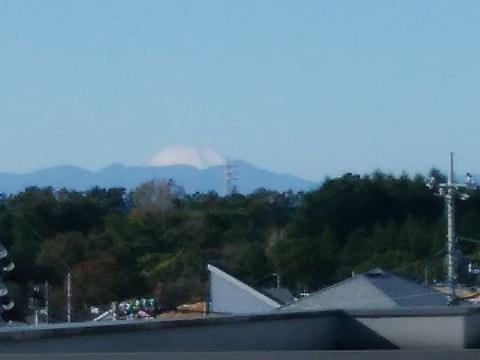 高山団地南側富士山