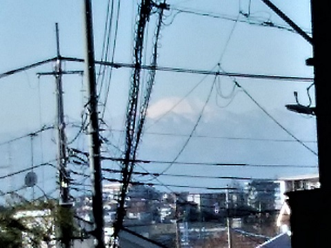 土橋7丁目富士山