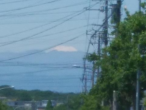 美しが丘西3丁目富士山