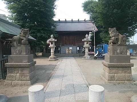 二子神社狛犬