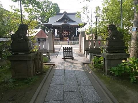 溝口神社狛犬