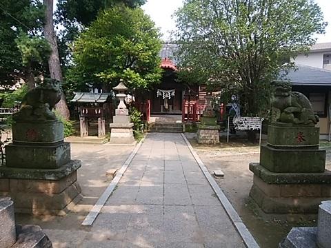 諏訪神社狛犬