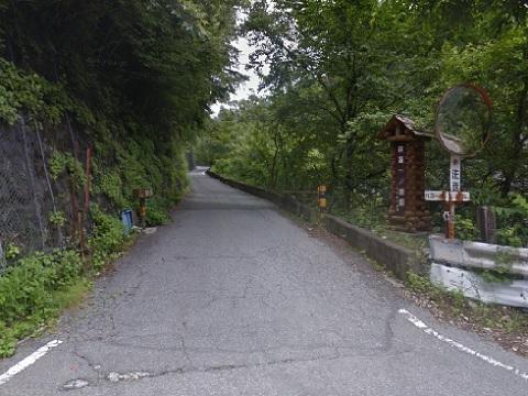 林道一ノ瀬線始点