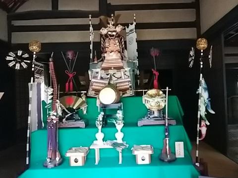 北村家の五月人形