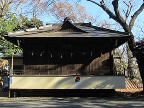 白幡神社神楽殿
