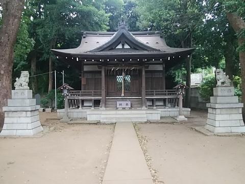 寺谷熊野神社狛犬