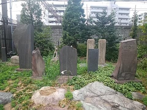 鶴見神社各種碑