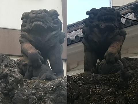 鶴見神社狛犬