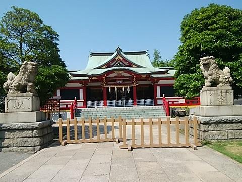 潮田神社狛犬