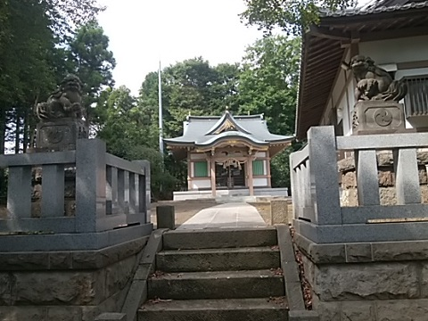 勝田杉山神社狛犬