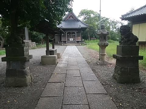 川和八幡神社狛犬