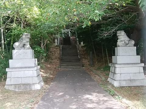 山田神社狛犬