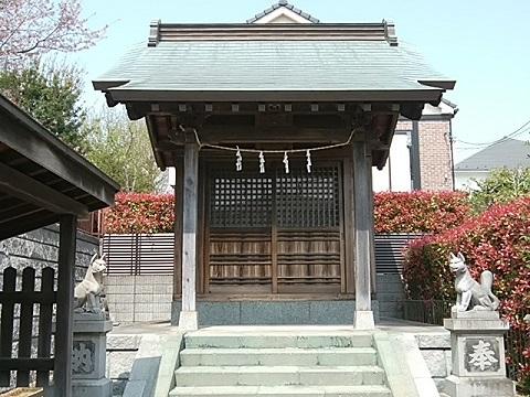 赤田稲荷宮