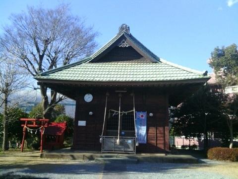 市ケ尾杉山神社