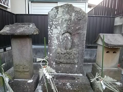 椎ノ木地蔵尊庚申塔