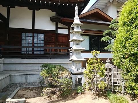 潮音寺ミニ五重塔