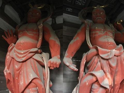 王禅寺仁王像