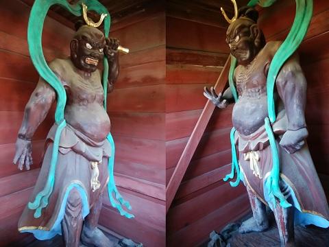 修廣寺仁王像