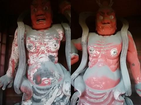 東光院仁王像