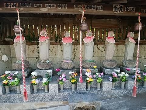 香林寺六地蔵