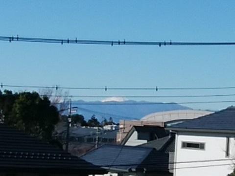 市境尾根富士山