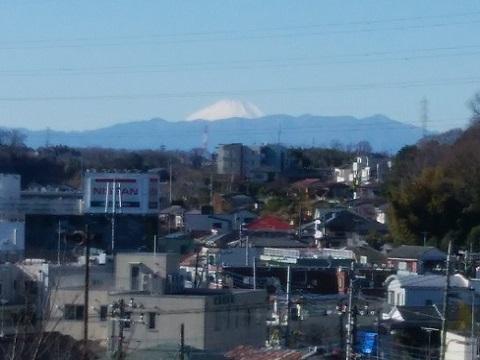 蟻山坂富士山