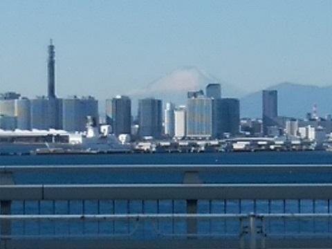大黒大橋富士山