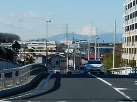 江ヶ崎跨線橋富士山
