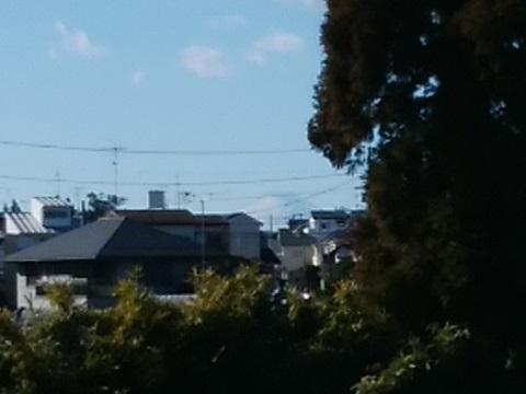 羽沢町4丁目富士山