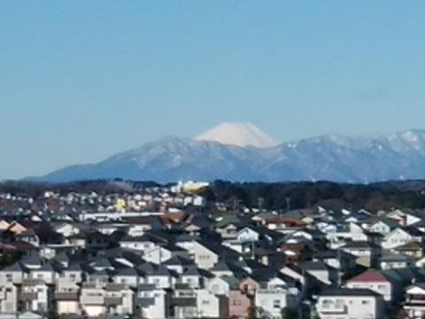 東本郷第一公園富士山