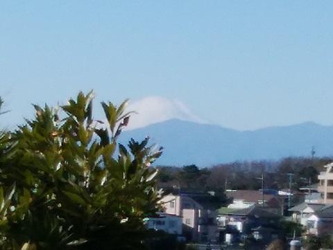 宮代橋富士山