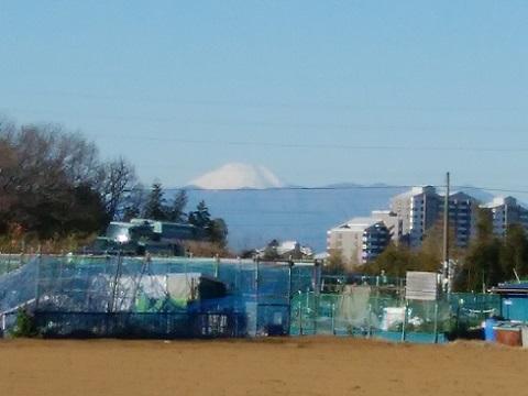 久末住宅富士山