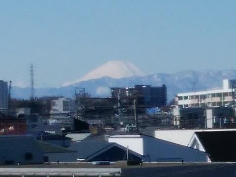 市ノ坪跨線橋富士山
