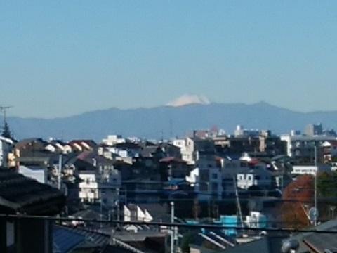 梶ヶ谷第三公園富士山