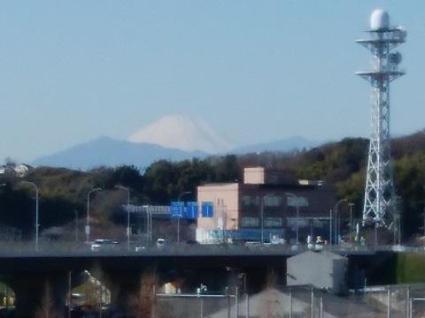 亀の甲橋富士山