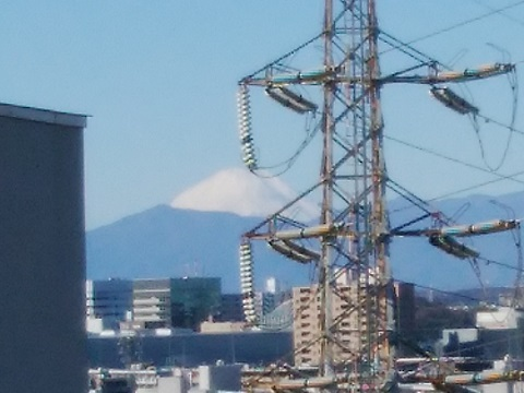 上の宮1丁目富士山