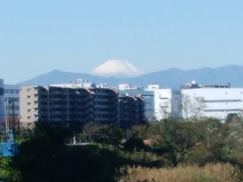 鴨居西河内第二公園富士山