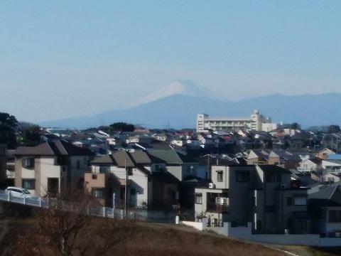 菊名3富士山