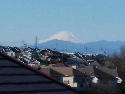 馬場5丁目富士山