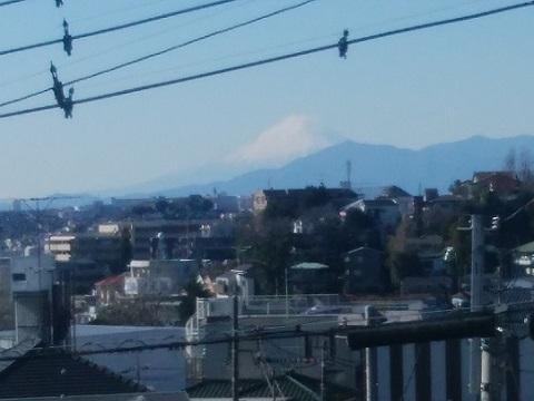 子安台公園富士山